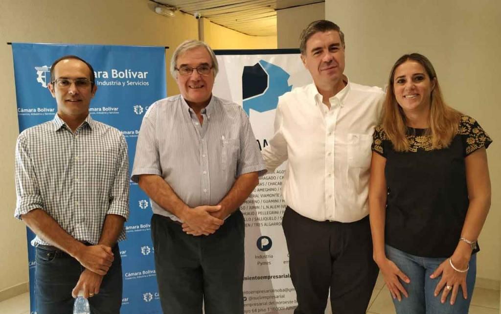 La Cámara Bolívar fue sede de la primera reunión del Nucleamiento del Noroeste Bonaerense del año 2020