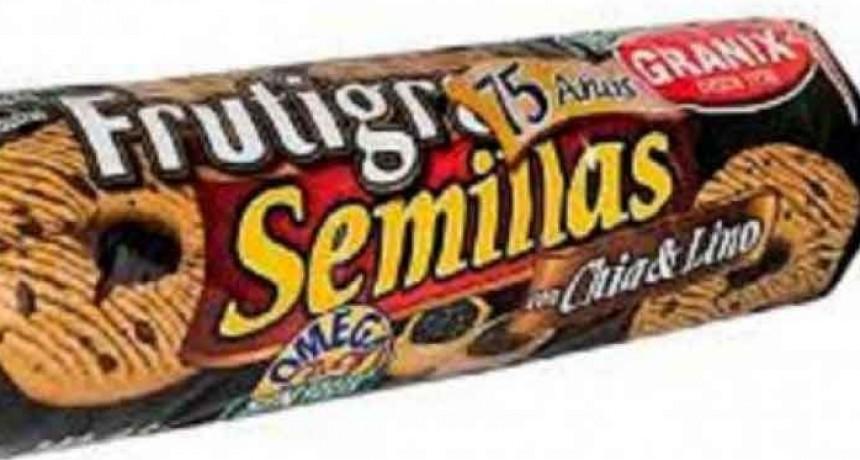 ANMAT retiró del mercado varios lotes de una reconocida marca de galletitas