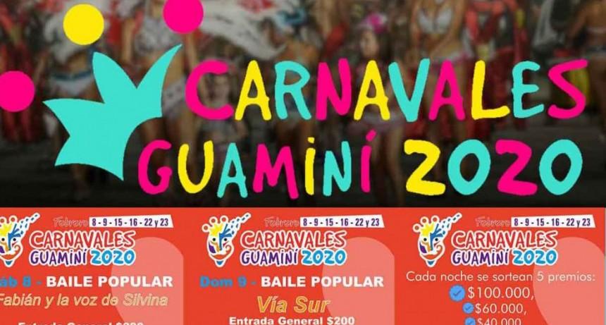Ya se palpitan los carnavales de Guaminí 2020