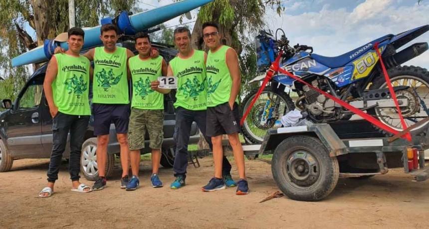 Destacada participación de deportistas locales en el pentatlón de General Villegas