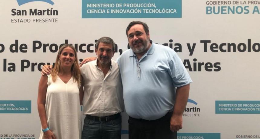Funcionarios municipales participaron del Primer Encuentro de Secretarios de Producción Bonaerenses
