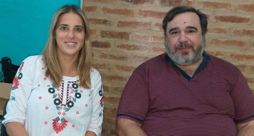 Lorena Carona: 'Esperemos continuar con este contacto y que puedan cumplir con la palabra de estar a disposición de los municipios'