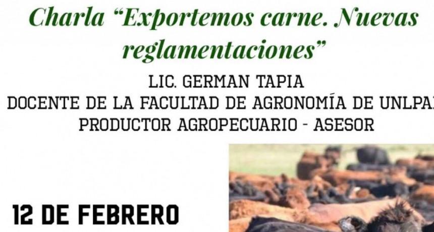 Charla Sobre las Nuevas Reglamentaciones para Exportar Carne