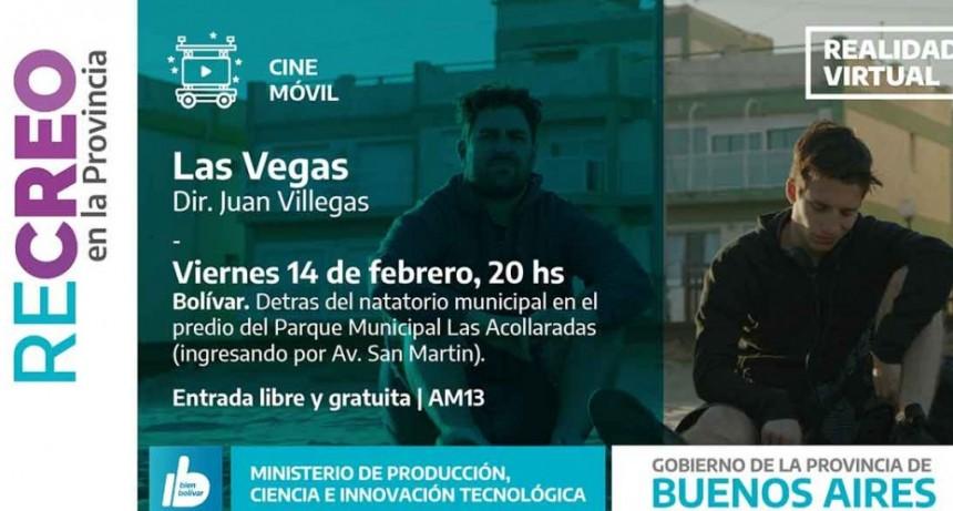 Este fin de semana el Cinemóvil llega a Bolívar, Urdampilleta y Hale