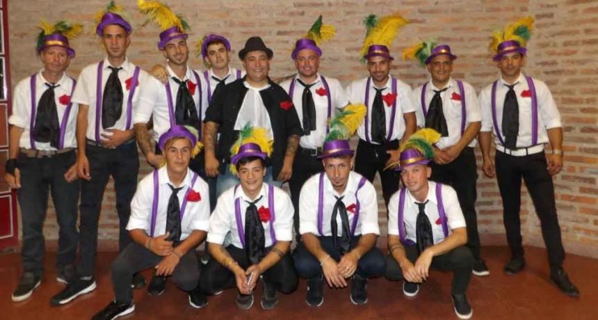 La Batucada Alegría Callejera se presenta en los carnavales de Pirovano