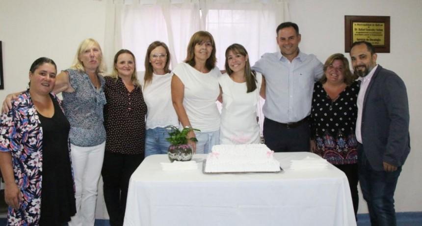 El servicio de oncología conmemoró su decimo aniversario