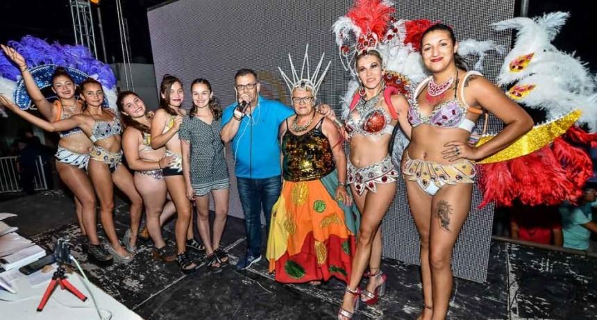 Se vivió un nuevo y exitoso fin de semana de Carnavales del arte y la alegría en Guamini