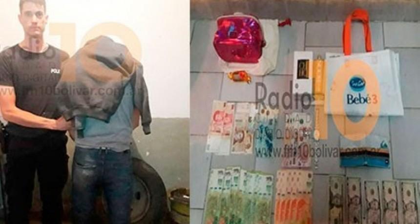 Se dicto prisión preventiva contra el sujeto que había sido detenido en Azul acusado de robos agravados en Bolívar