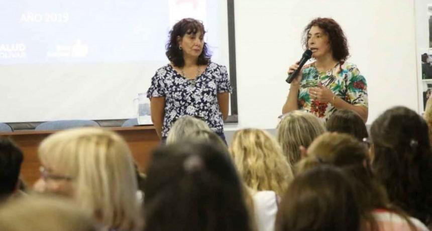 Las áreas de salud y derechos humanos de la municipalidad participaron de una plenaria de educación