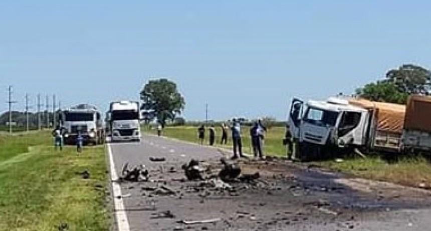 Fatal accidente en la ruta 5; al menos una persona fallecida