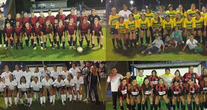 Comienza a definirse el Torneo Interno de los Barrios del Fútbol Femenino