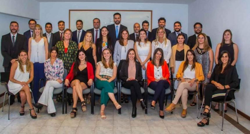 La bolivarense Guillermina Erreca juró como nueva matriculada en el Colegio de Abogados de Azul