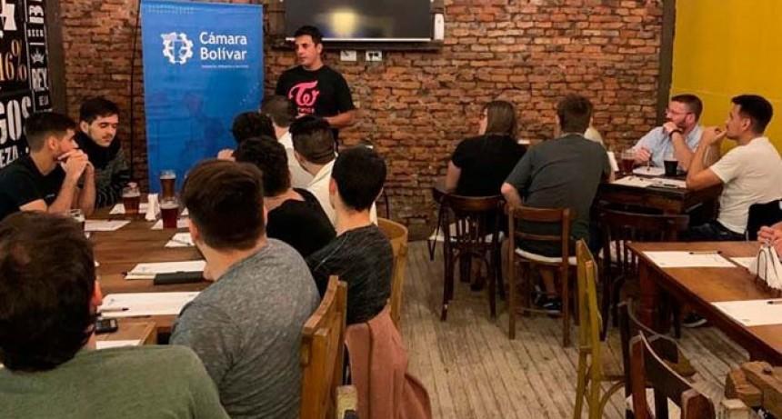 La subcomisión de Jóvenes de la Cámara Bolívar realizó el 2° encuentro de TecnoPolo