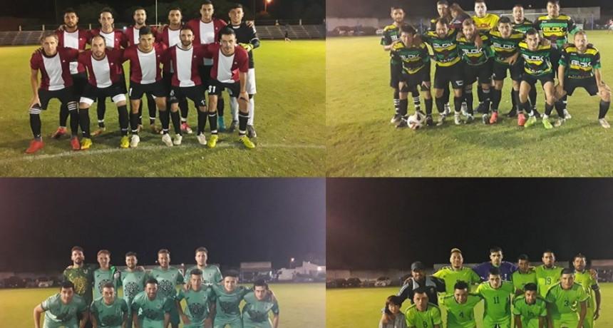 Barrio Flores; Barrio Latino, Solidaridad y Calfucura son los semifinalistas del Torneo Interno de los Barrios