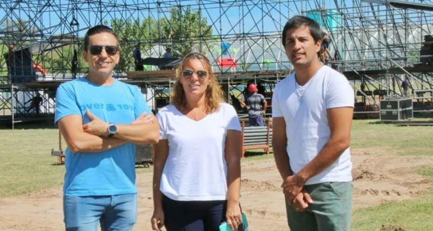Desde el Parque Las Acollaradas ya se vibra el Me Encanta Bolívar 2020