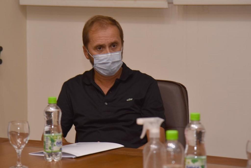 """Eduardo Zazzarini: """"Vamos a brindar Guardia Pediátrica nocturna en Coopemed, celebramos un acuerdo con el Consejo de Administración de la Cooperativa Eléctrica"""