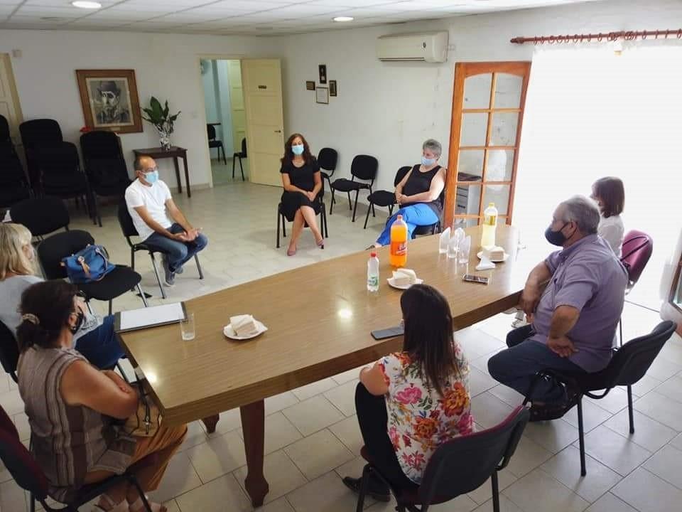 LALCEC cumplio 61 años de vida institucional y recibió la visita del intendente Pisano