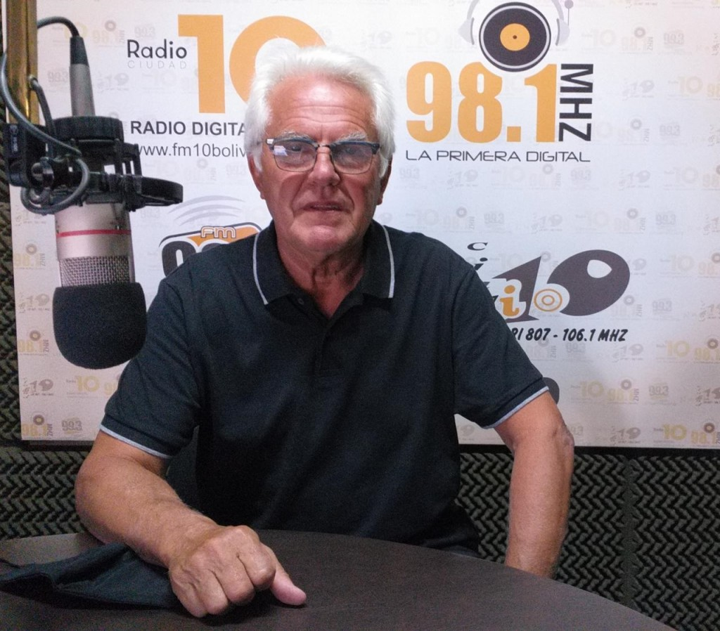"""Norberto García: """"Establecimos un valor accesible para la rifa de este año, conociendo la situación que se vive"""""""