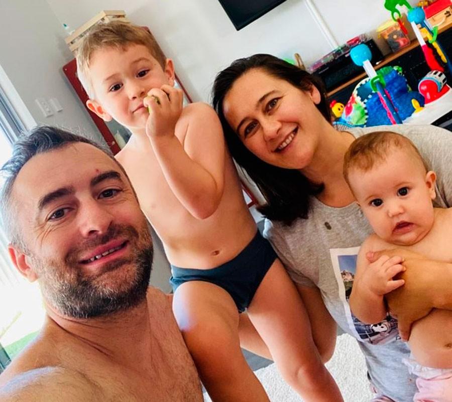 """Luciano Danessa: """"Llegamos a Australia en el año 2012 y hoy ya tenemos nuestra casa propia y dos hijos"""""""