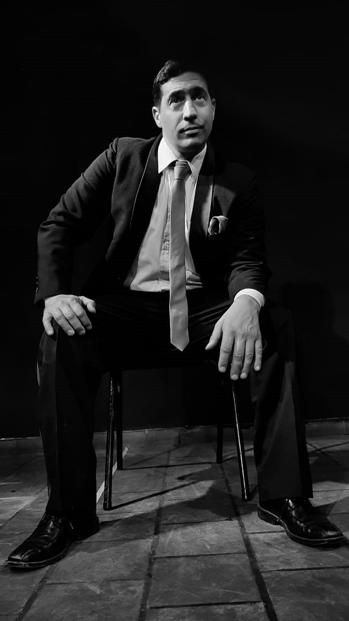 """Marcelo Curotti (Actor 120 kg de Jazz): """"Esta obra se va a estrenar el lunes en Bolívar, por eso los invito a verla"""""""