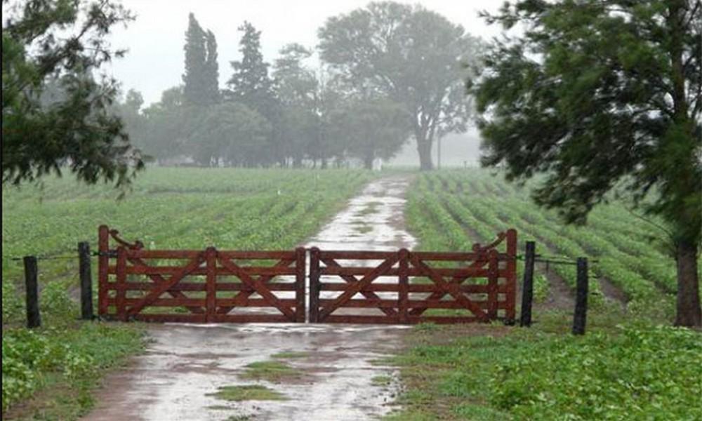 Se dieron lluvias absolutamente irregulares en algunos sectores del partido de Bolívar