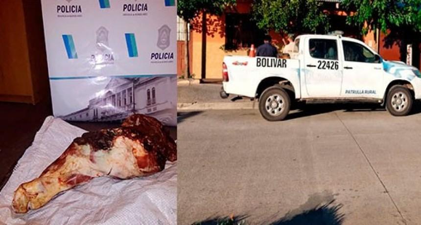Información Oficial: Secuestraron de un domicilio, carne vacuna que sería producto de un abigeato