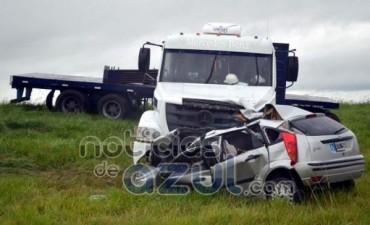 Dos muertos en un accidente en la Ruta 3