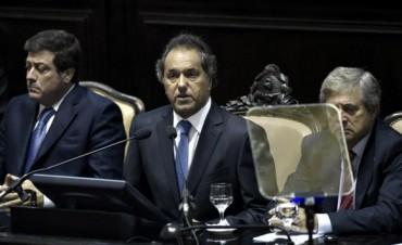 Scioli repasó sus logros de gestión en sintonía con el Gobierno Nacional