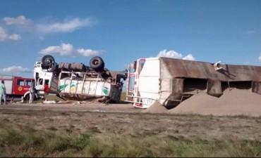Impactante accidente en la Ruta Nacional 33