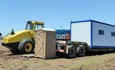 Ruta del cereal: el peor escenario en Mones Cazón