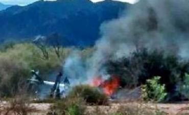 Diez personas murieron en el choque entre dos helicópteros en La Rioja