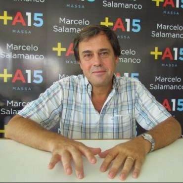"""Salamanco: """"No conformaría ninguna alianza con el PRO, porque sería volver a los años 90"""""""