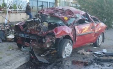 Henderson: un joven en grave estado a raíz de un accidente