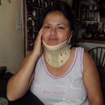 Testimonio de Vilma Quintana tras el vuelco que sufrió este lunes por la tarde