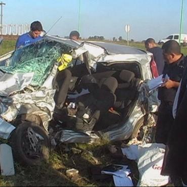 Dos nuevejulienses murieron en la Ruta Provincial 50 cuando se dirigían a Facundo Quiroga