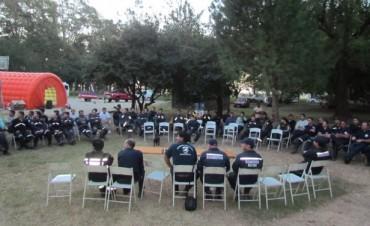Óptimos resultados tras el 3º Encuentro Regional de Bomberos en Bolívar