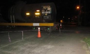 Descarriló un tren de carga con más de treinta vagones
