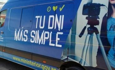 Renaper: Operativo documentación realizado por el 'Camión Fábrica' en Bolívar