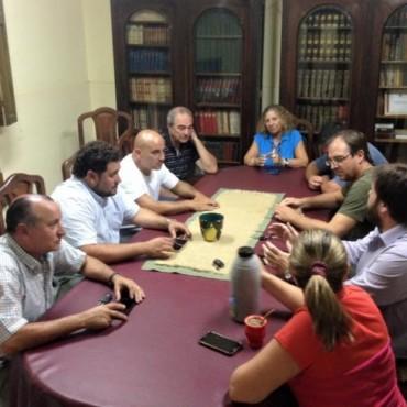 Ricardo Criado se reunió con Comisión Directiva del Comité Radical