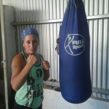 """Silvina 'La Guapa' Gómez: """"Esta es mi última pelea como amateur"""""""