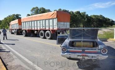 Olavarría: Violento accidente sobre el puente de la Ruta 226