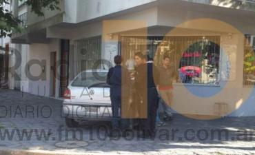 Leve impacto en avenida Venezuela y calle Olascoaga