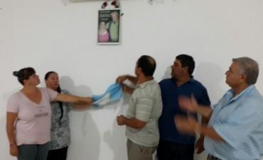 Barrio Jardín: A pocos meses del fallecimiento, se realizó un homenaje a Juan Carlos 'Turco' Licera y su señora Evelia Flores
