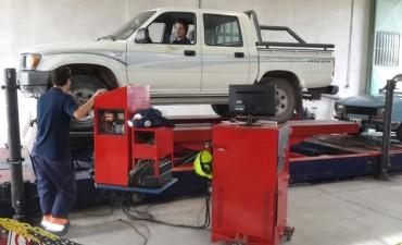 VTV (Verificación Técnica Vehicular) : la planta estará en Bolívar hasta el 23 de marzo