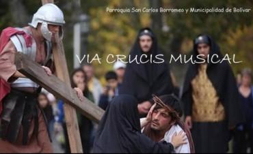 El 'Vía Crucis Musical' llegará este fin de semana a Bolívar