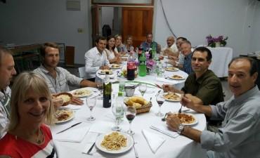 El intendente fue invitado por la Sociedad Italiana a conocer reformas edilicias