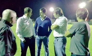 Bali Bucca visitó las instalaciones del Club Independiente