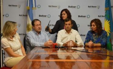 El intendente Bucca presentó el encuentro de la Región Sanitaria IX, que será en Bolívar