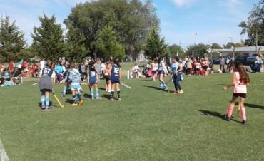 Se realizó el encuentro de 'Mini Hockey' en Bolívar
