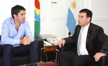 Mosca respaldó la denuncia penal del intendente de Azul contra su antecesor Inza